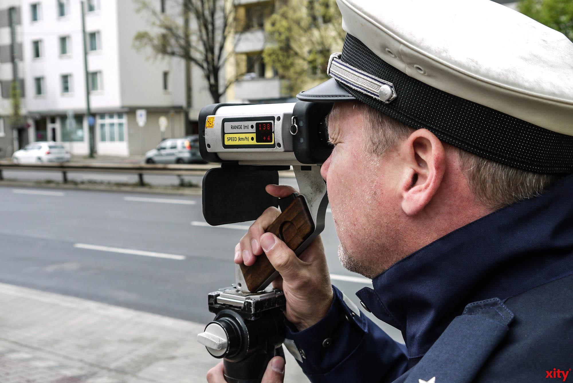 Geschwindigkeitskontrollen der Stadt Düsseldorf