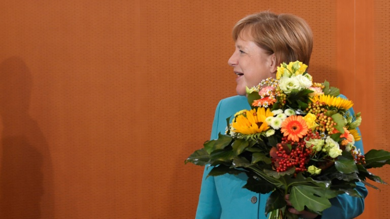 Merkel stellt sich vor Sommerpause den Fragen von Journalisten