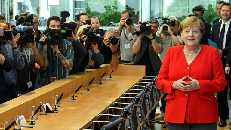 Merkel hält große Koalition für handlungsfähig