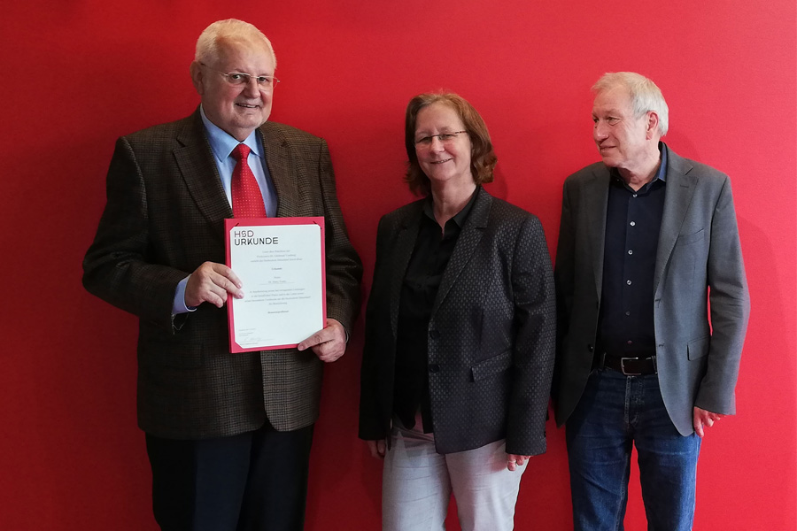 Dr. Harry Fuchs erhält Honorarprofessur