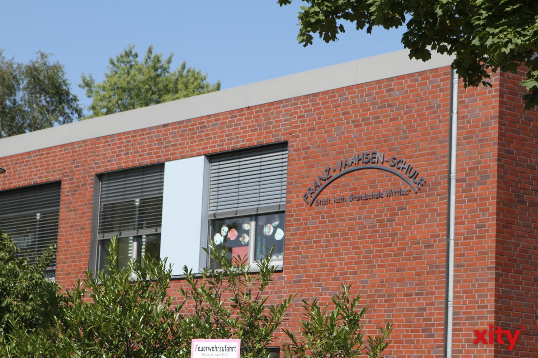 An der Franz-Vaahsen-Schule entsteht eine neue Sporthalle (Foto: xity)
