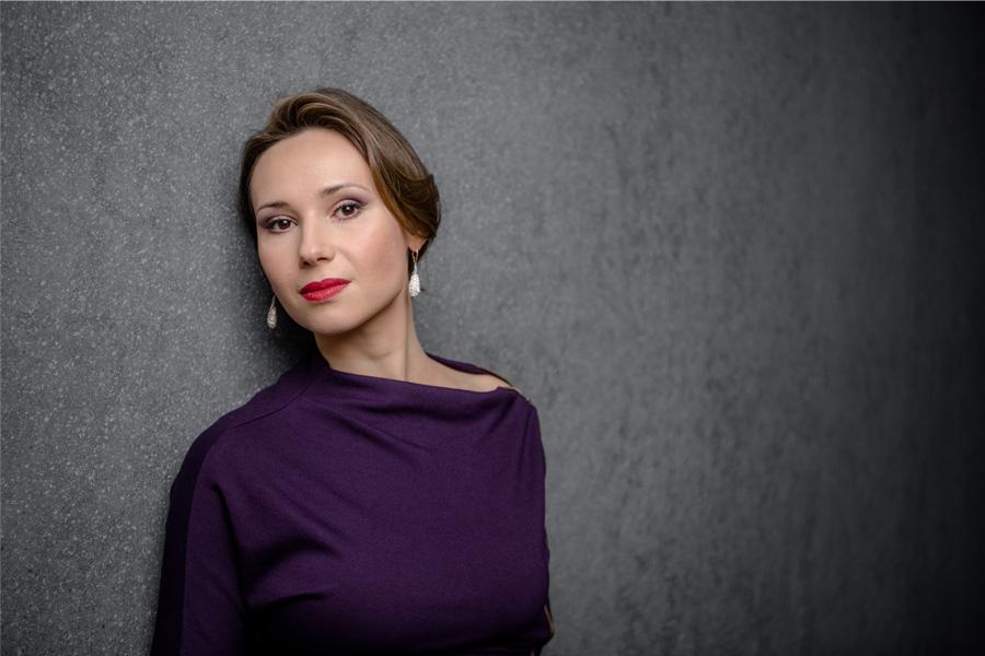 Mezzosopranistin Maria Kataeva (Foto: Andreas Ende)
