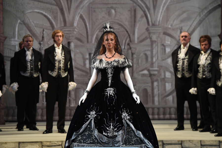 Maria Kataeva in La Cenerentola (Foto: Hans Jörg Michel)