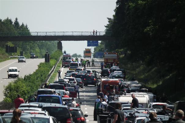 Extremer Reisefrust auf allen Autobahnen
