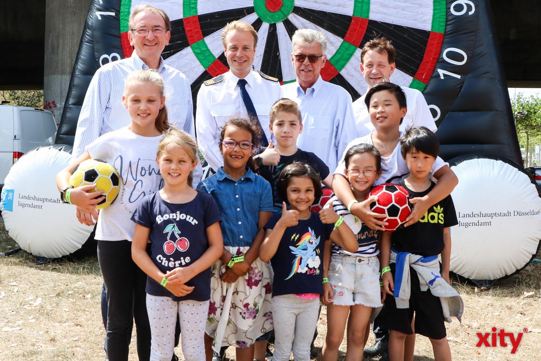Bereits zum 16. Mal findet in der letzten Woche der Sommerferien vom 17. bis 24. August 2019 das beliebte Sportfest für Kinder, Jugendliche und junge Erwachsene im Alter zwischen 6 und 21 Jahren am Apolloplatz statt. (Foto: xity)