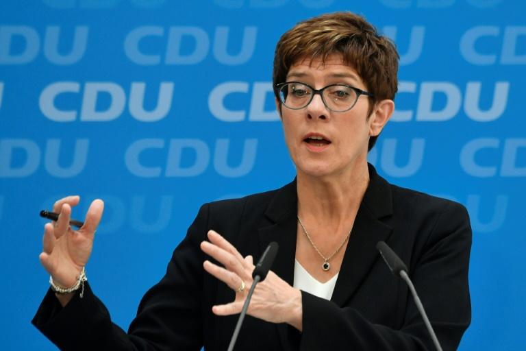 Kramp-Karrenbauer will Klimaschutz durch große Steuerreform befördern (© 2019 AFP)