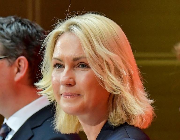 SPD-Co-Vorsitzende Schwesig lässt Zukunft der Koalition offen (© 2019 AFP)