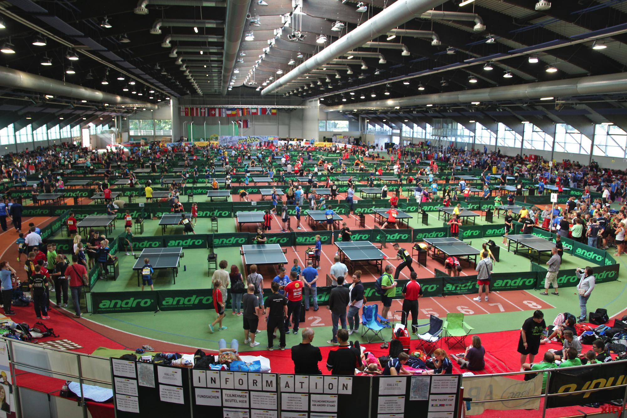 Jubiläum der andro Kids Open in den Startlöchern (Foto: xity)