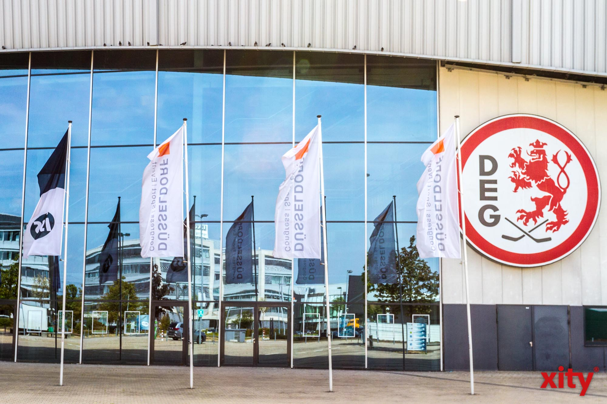 Die AWISTA bleibt Team Partner der Düsseldorfer EG. (Foto: xity)