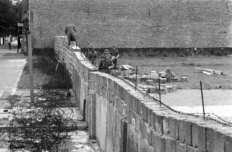 Hirte mahnt anlässlich des Mauerbau-Jahrestags Engagement für die Freiheit an (© 2019 AFP)