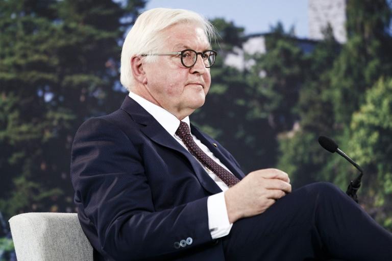 Steinmeier kritisiert AfD wegen Parolen zu friedlicher Revolution in der DDR (© 2019 AFP)