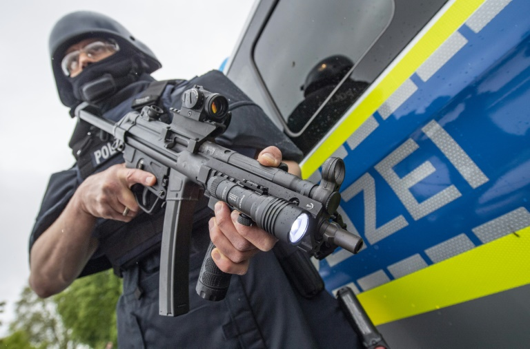 Disziplinarverfahren nach Maschinenpistolenverlust bei Polizei in Niedersachsen (© 2019 AFP)