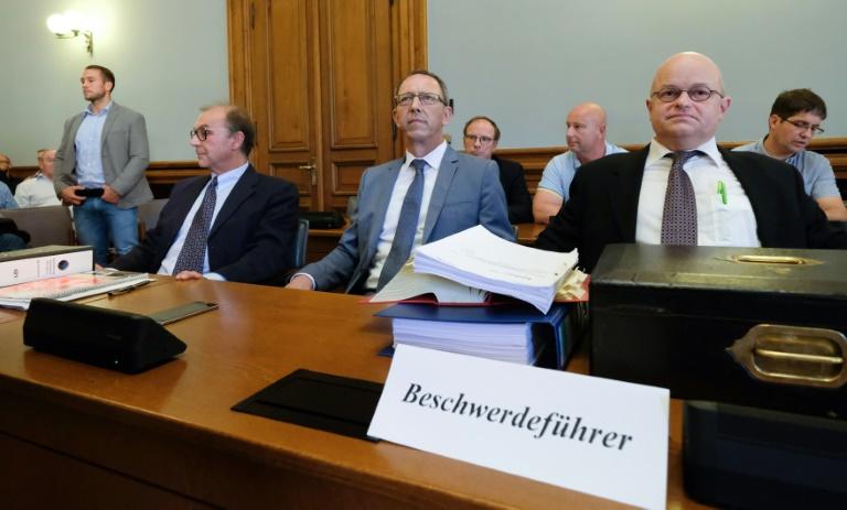 Verfassungsgerichtshof in Leipzig verkündet Urteil zu AfD-Listenbeschwerde (© 2019 AFP)