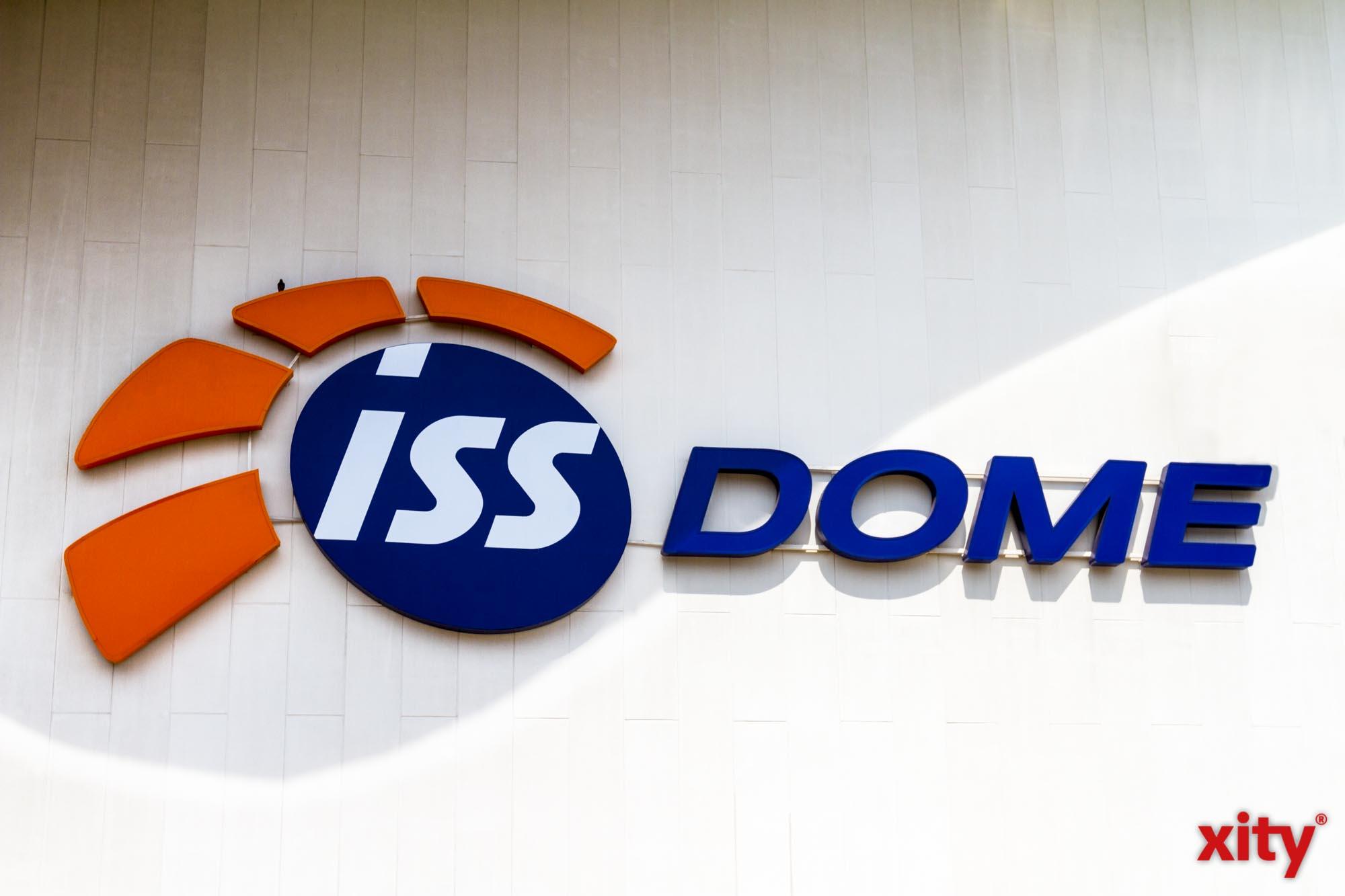 Der ISS Dome ist Spielstätte des Pixum Super Cup 2019 (Foto: xity)