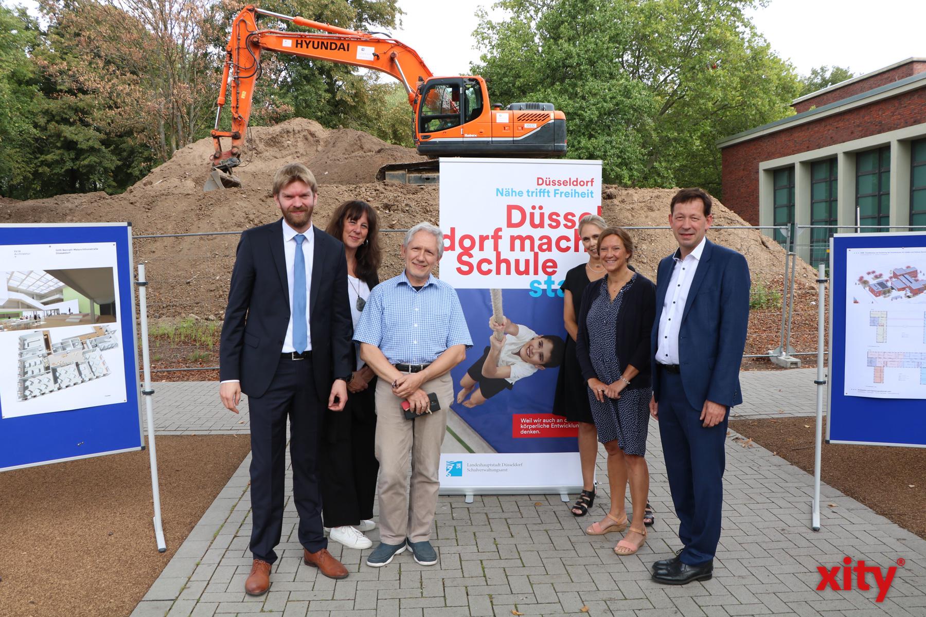 Florian Dirszus Freia Visser, Hans-Jürgen Gürke, Susanne Ravier, Ulrike Freytag und Stadtdirektor Burkhard Hintzsche (Foto: xity)