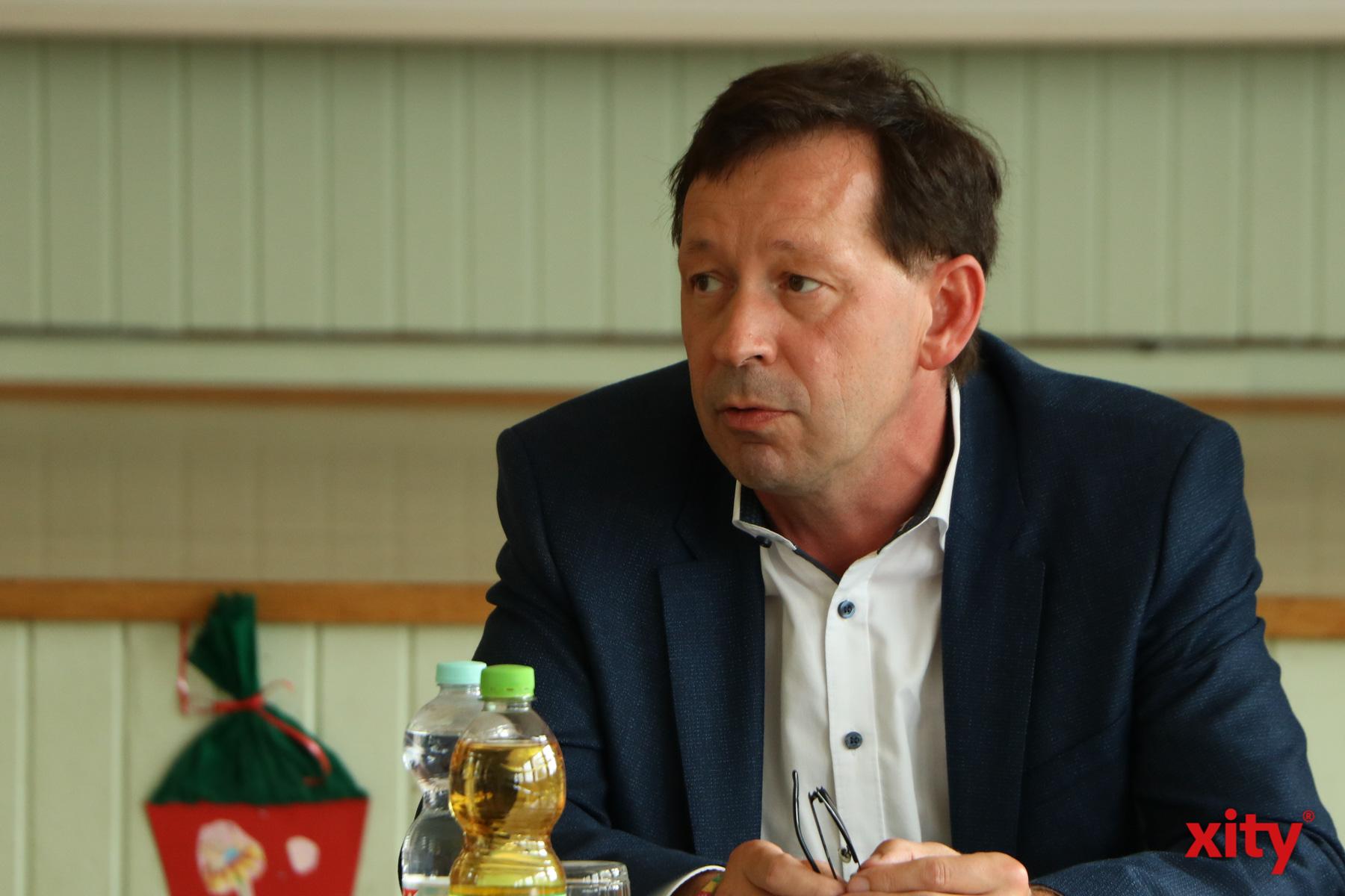 Burkhard Hintzsche, Stadtdirektor und Schuldezernent der Landeshauptstadt Düsseldorf (Foto: xity)