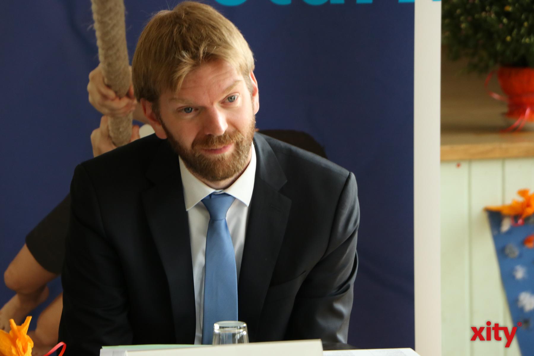 Florian Dirszus, stellvertretender Leiter des Schulverwaltungsamtes  (Foto: xity)