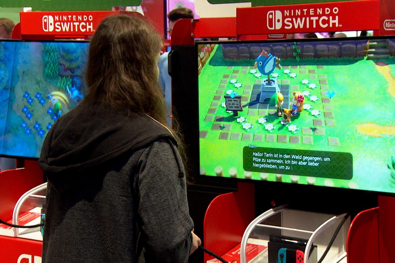 """Spiele wie """"The Legend of Zelda"""" sind unglaublich beliebt (Foto: hellofootage)"""