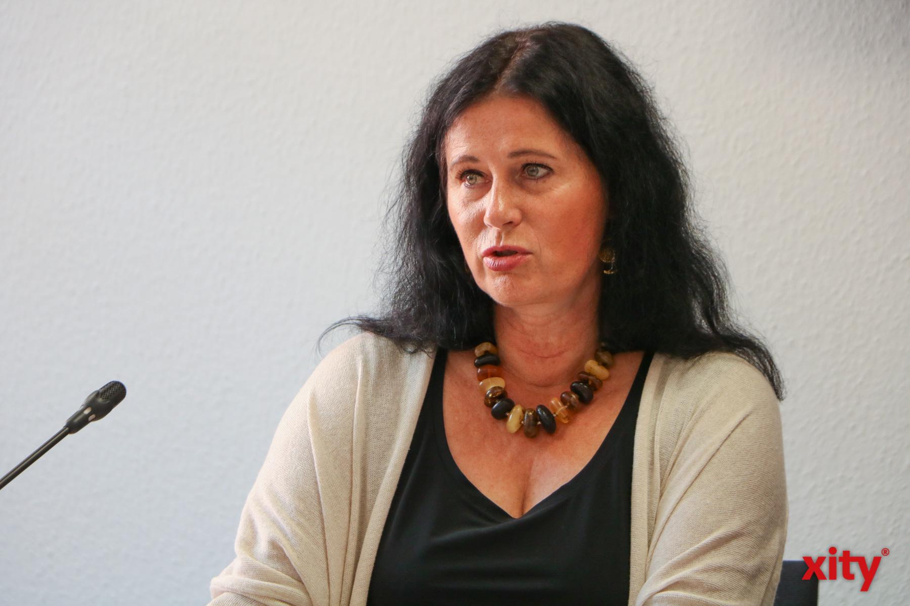 Cornelia Zuschke, Verkehrsdezernentin der Landeshauptstadt Düsseldor (Foto: xity)