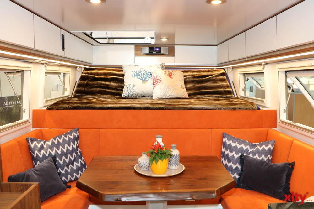 Das Thema Luxuscamping hat immer einen Platz auf dem Caravan Salon in Düsseldorf (Foto: xity)
