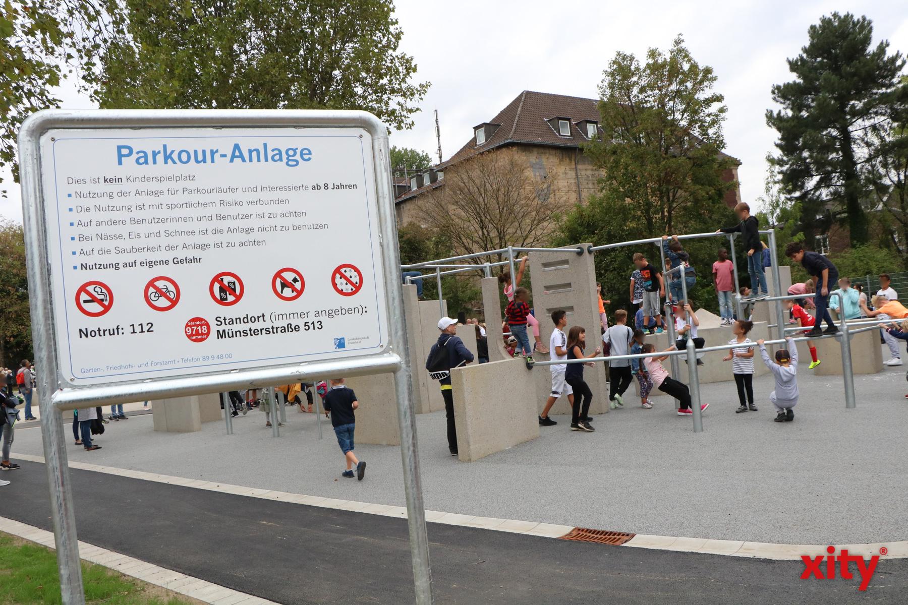 """In Rath eröffnete am Dienstag der neue """"Sportpark am Bunker"""" (Foto: xity)"""