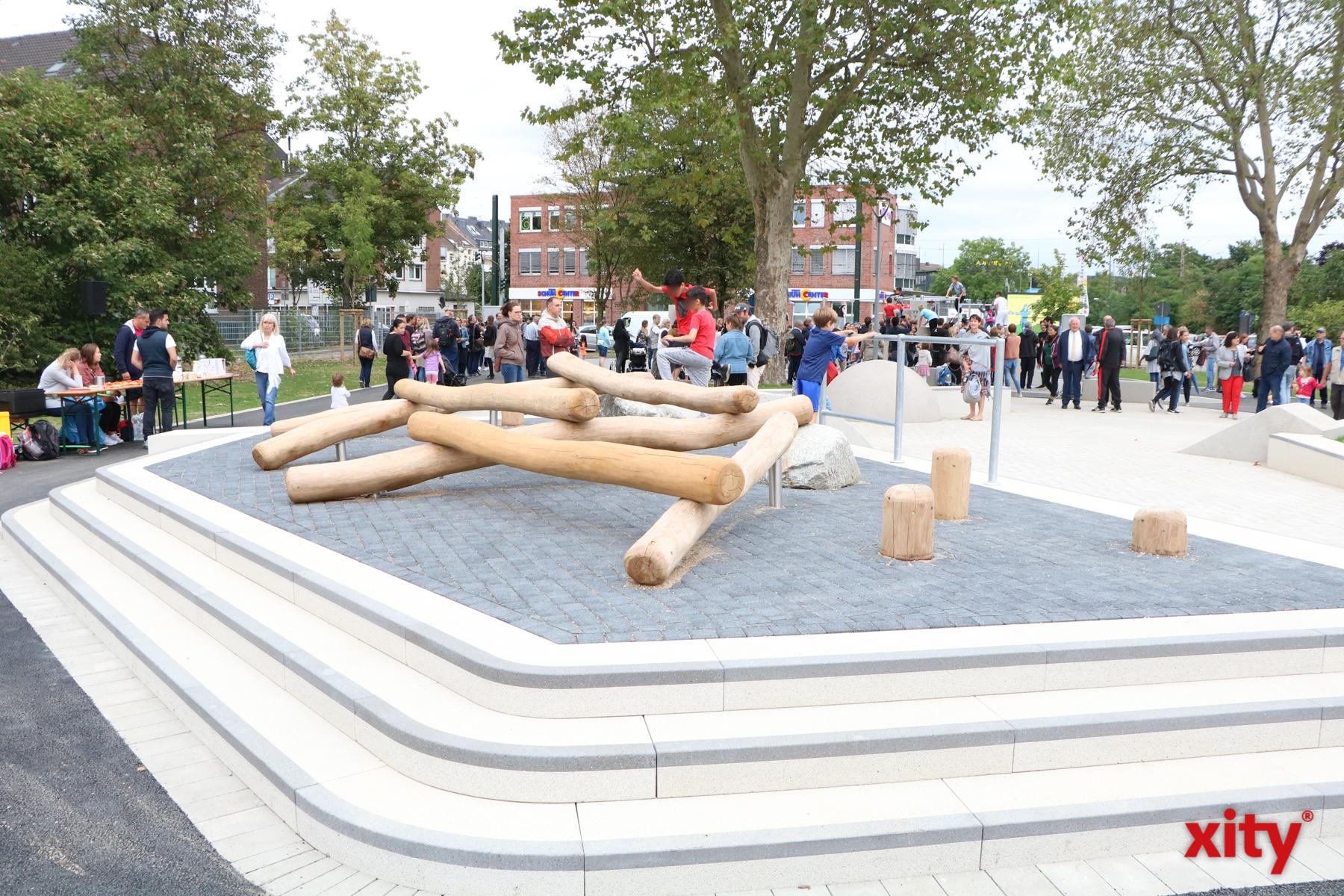"""Der neue """"Sportpark am Bunker"""" bietet den Besuchern viel Platz zum sportlichen Ausgleich (Foto: xity)"""