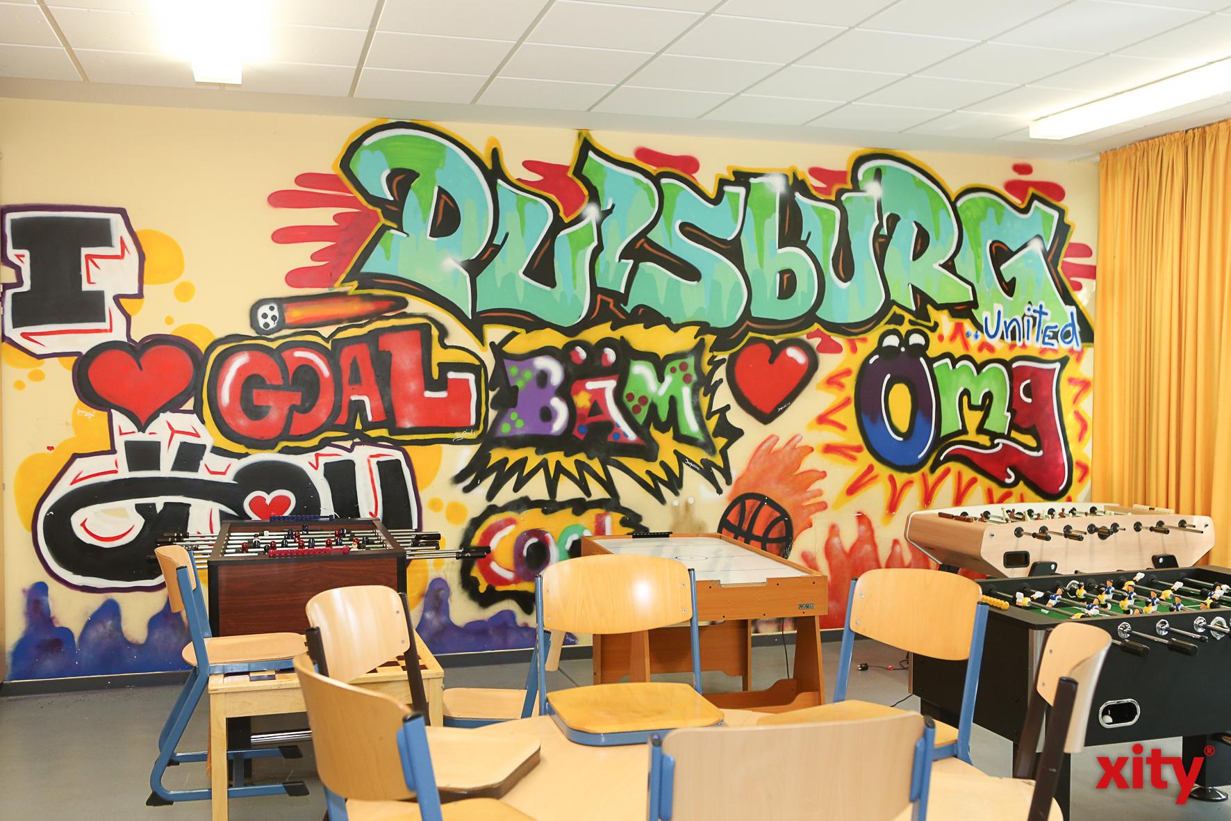 Die frisch renovierten Räume für die 9. und 10. Klassen (Foto: xity)