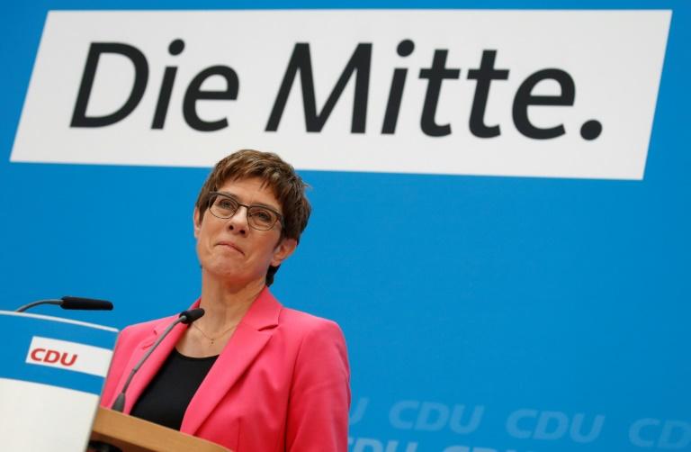 """Kramp-Karrenbauer will in Klimaschutzpolitik """"Turbo einlegen"""""""