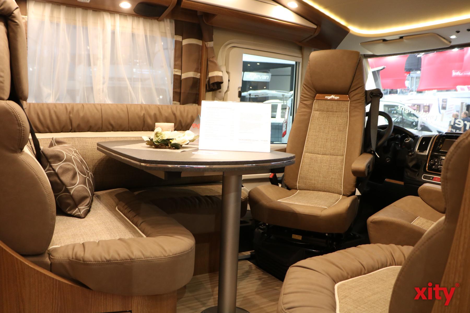 Neun Tage lang läuft der Caravan Salon in Düsseldorf - und am Schluss scheint es, als könne er auch noch eine Woche laufen. (Foto: xity)