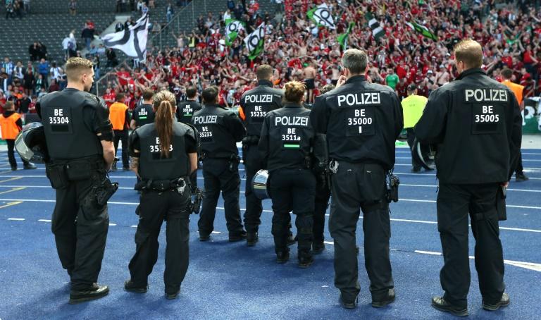 Deutsche Fußballliga überweist Bremen 1,17 Millionen Euro für Polizeieinsätze (© 2019 AFP)