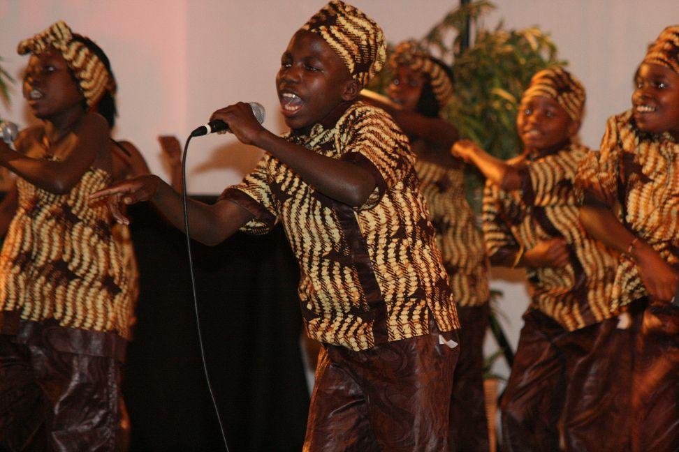 Kinderchor Tumaini Voices aus Uganda zu Gast in Düsseldorf (Foto: Tumaini Voices)