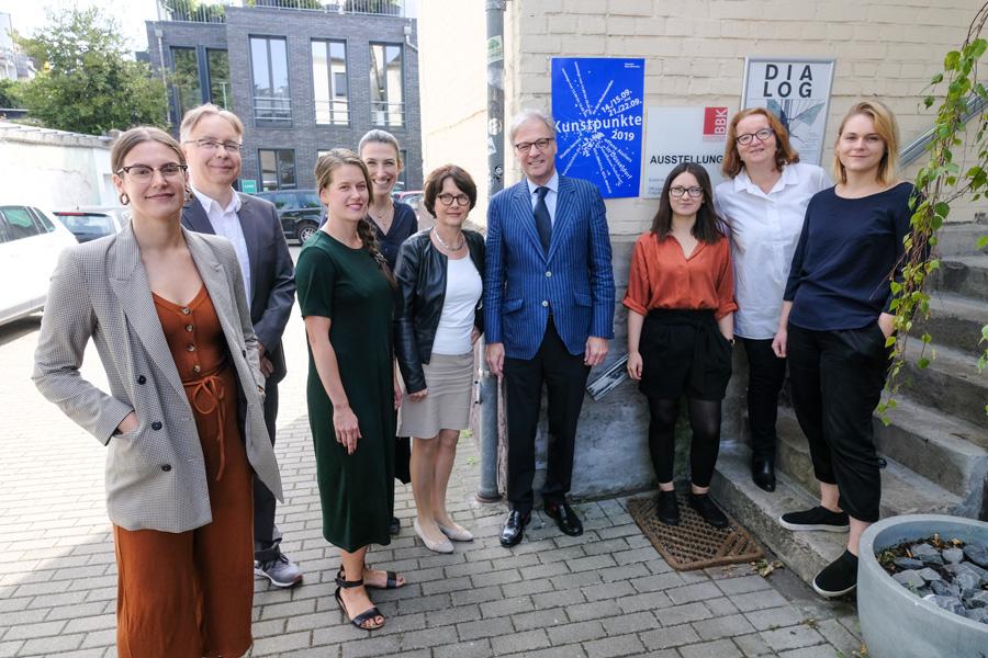 Kunstpunkte 2019: Bereits zum 23. Mal präsentieren sich die Düsseldorfer Künstlerinnen und Künstler der Öffentlichkeit (Foto: Stadt Düsseldorf/Michael Gstettenbauer)