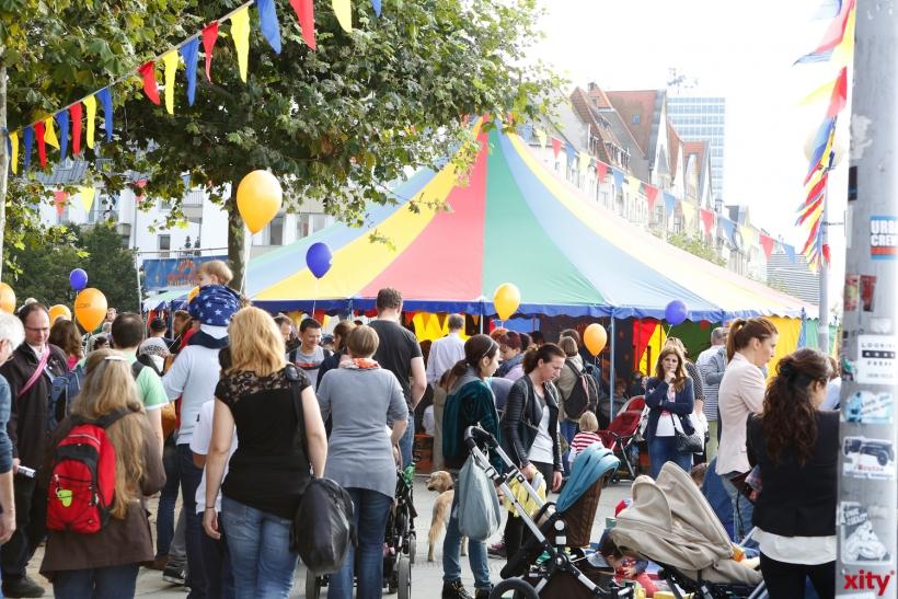 Über 130.000 Gäste machen die Rheinuferpromenade zum größten Spielplatz der Stadt (Foto: xity)
