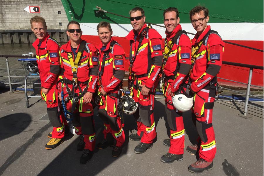 Das Team der Feuerwehr Düsseldorf (Foto: Feuerwehr Düsseldorf)