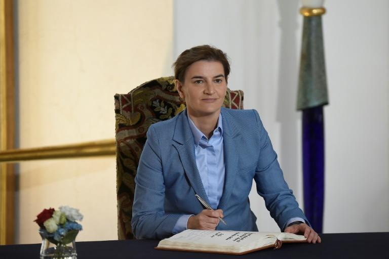Merkel empfängt serbische Ministerpräsidentin Ana Brnabic