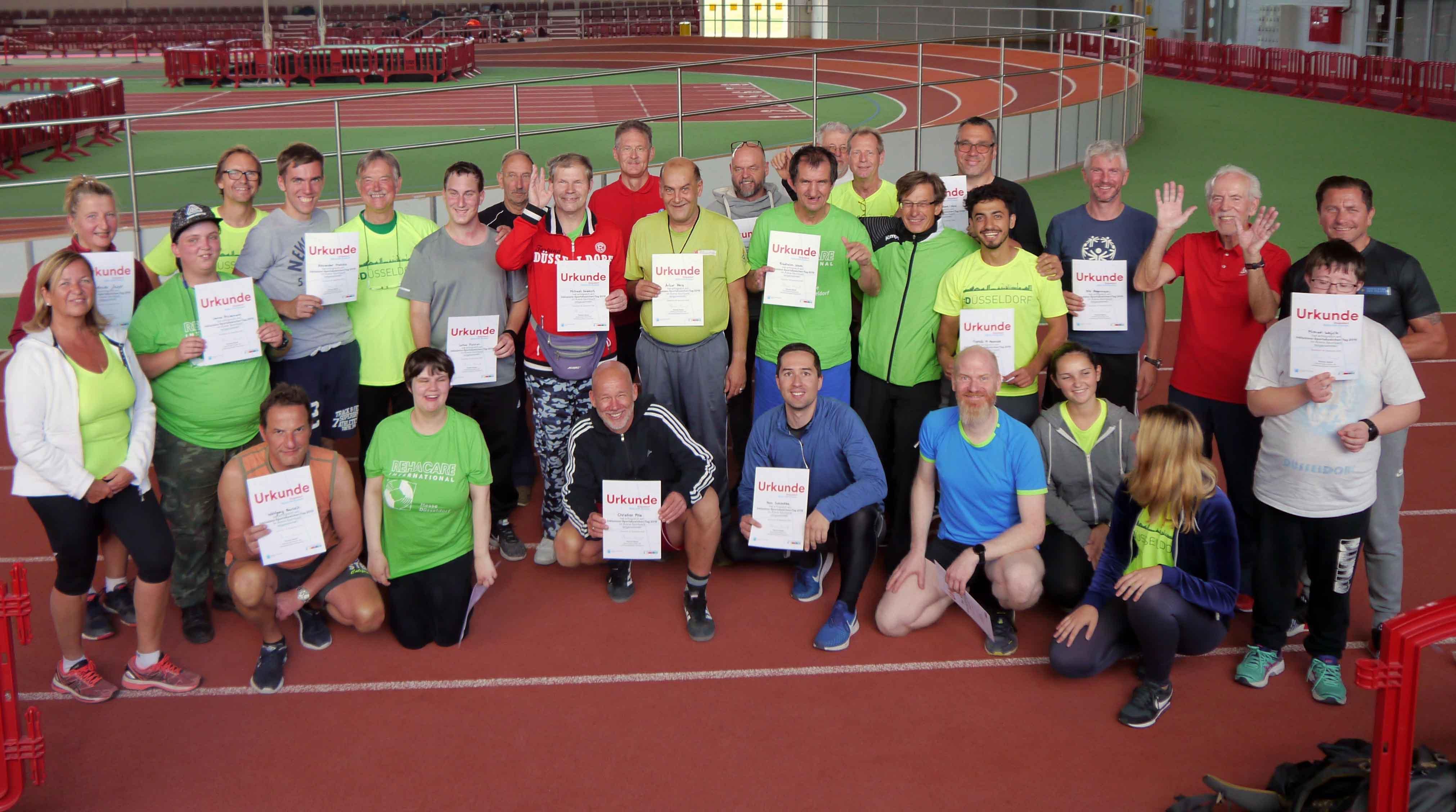 Erster Inklusions-Sportabzeichen-Tag in Düsseldorf