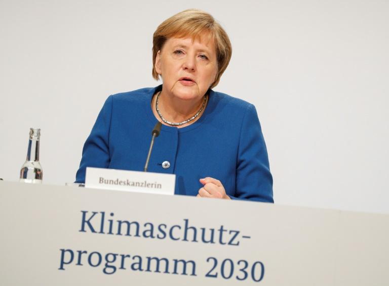 Merkel sieht mit Klima-Paket die Grundlagen für Erreichen der Klimaziele