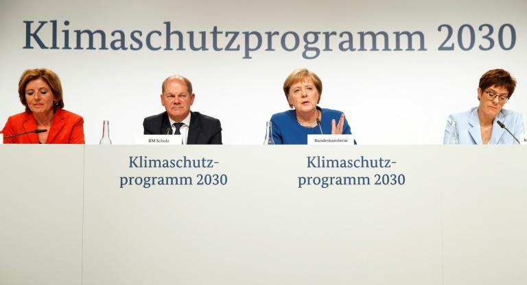 Bundeskabinett bringt Klimapaket auf den Weg (© 2019 AFP)