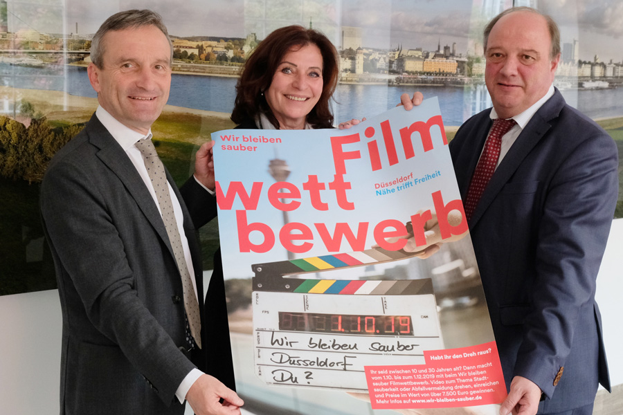 Filmwettbewerb zur Stadtsauberkeit in Düsseldorf (Foto: Stadt Düsseldorf)