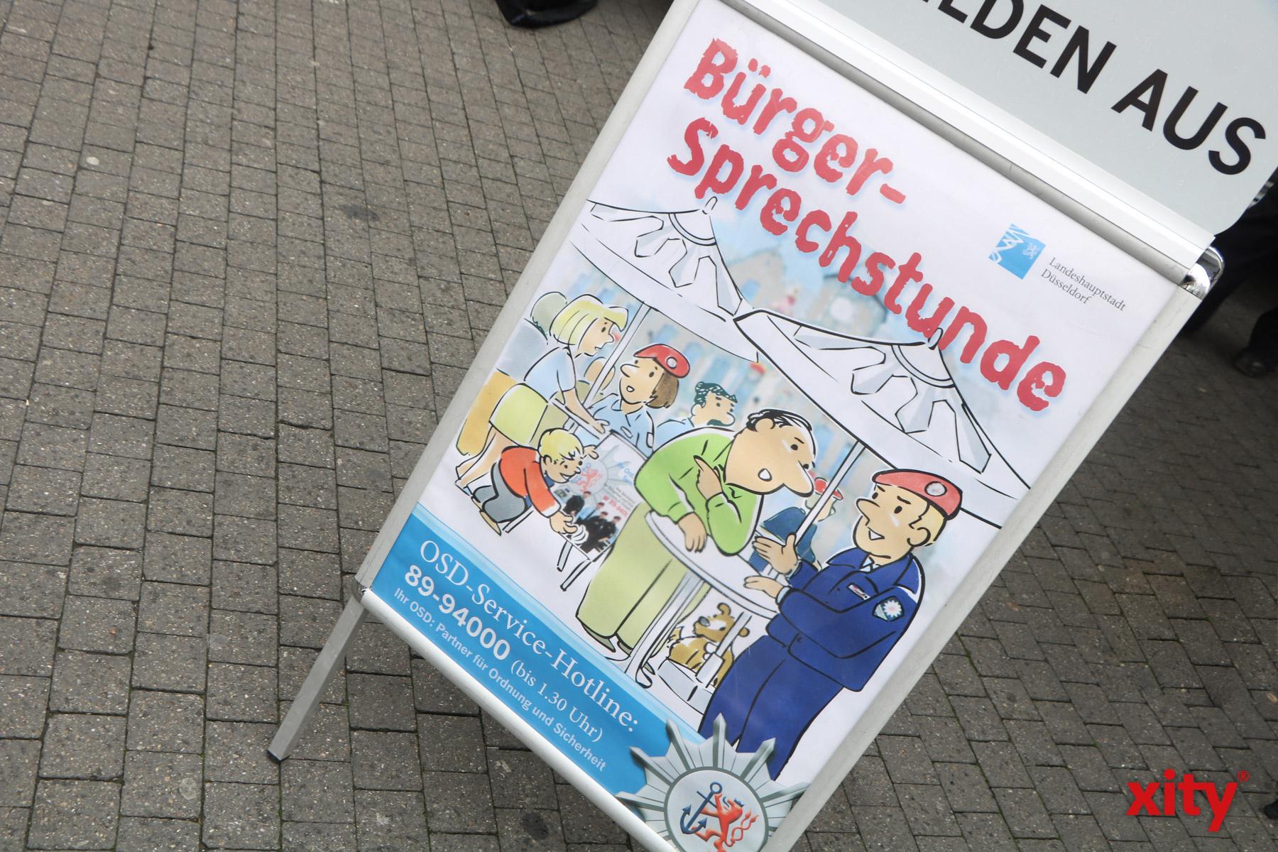 OSD-Bürgersprechstunden in Hellerhof (Foto: xity)
