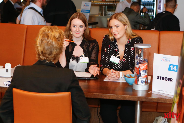Moderne Stellenbesetzung findet im direkten Austausch statt (Foto: xity)