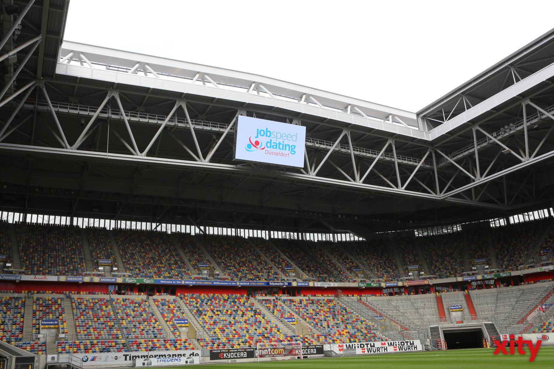 Das JobSpeedDating fand in der Merkur Spiel-Arena statt (Foto: xity)