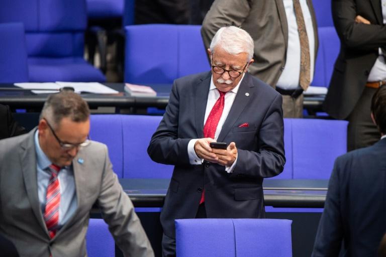 AfD-Abgeordneter Podolay fällt bei Wahl zum Bundestags-Vizepräsidenten durch (© 2019 AFP)
