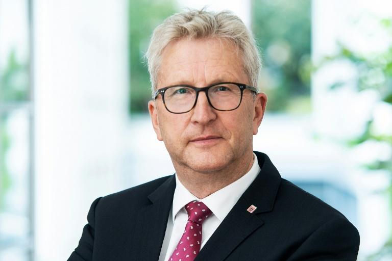 Nachfolger von ermordetem Kasseler Regierungspräsidenten Lübcke wird eingeführt (© 2019 AFP)