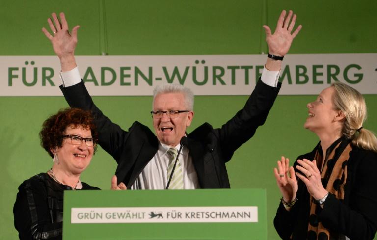"""""""Politbarometer"""": Grüne erreichen mit 27 Prozent neuen Bestwert (© 2019 AFP)"""
