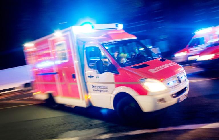 Mehrere Verletzte nach Brand in Fachklinikum im niedersächsischen Sehnde (© 2019 AFP)
