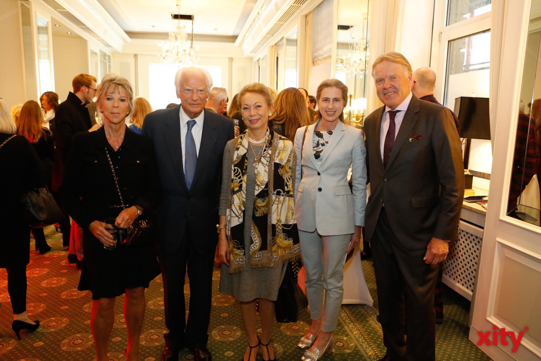 Renate Voos-Frönicke, Claude Cathalan, Dr. Vera Geisel und Peter Wienen(Foto: xity)