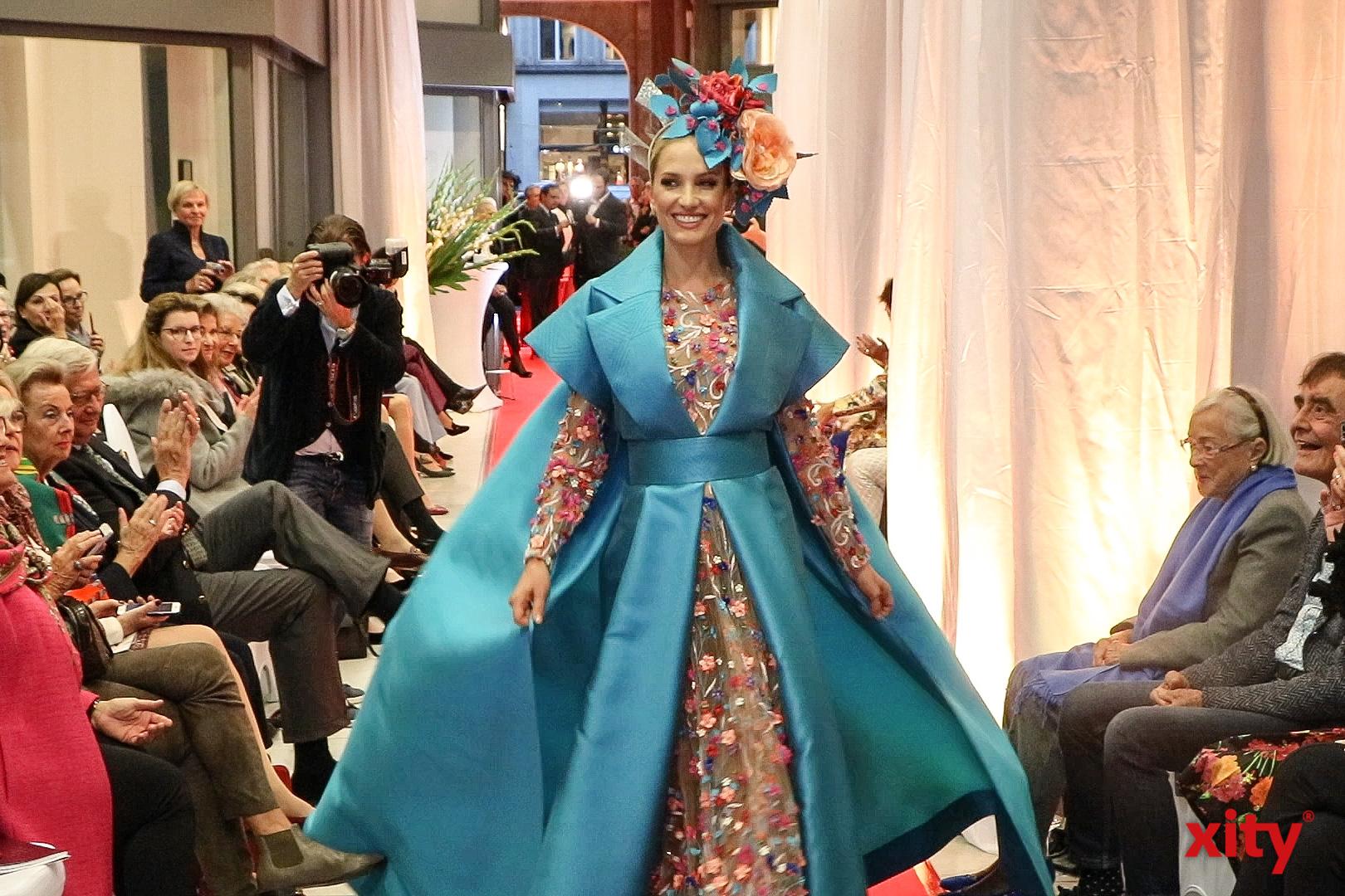 Bei Pio O´Kan wurde Haute Couture gezeigt (Foto: xity)