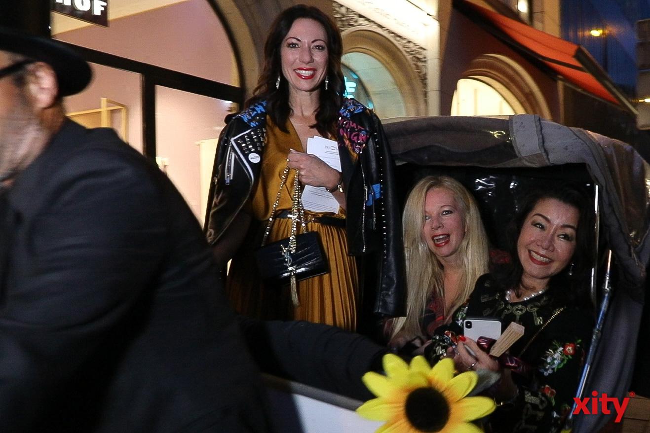 Die Besucher konnten mit einer Rikscha von Geschäft zu Geschäft fahren (Foto: xity)