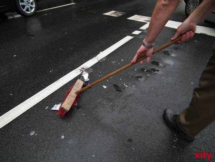Polizei sucht Zeugen einer Verkehrsunfallflucht in Pempelfort (Foto: xity)